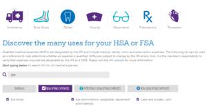 EyeGiene qualified FSA expense 2020