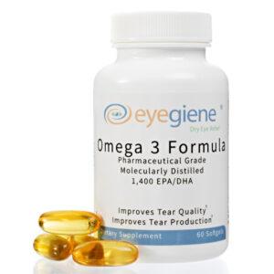 EyeGiene Omega 3 Supplement for Eye Health